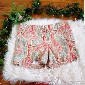 KENAR paisley floral printed shorts 4